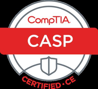CASP Logo Certified CE